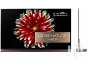LG Signature Oled 4k Hdr Smart TV 77inchs | TV & DVD Equipment for sale in Lagos State