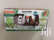 Salter 3 In 1 Side Loading Electric Fruit Vegetable Spiralizer 15 W | Kitchen Appliances for sale in Lagos State, Lekki Phase 2