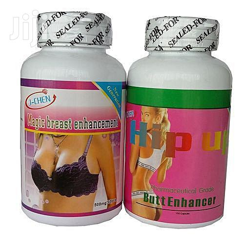 2 In 1 Breast And Hip Up Butt Enlargement Capsules