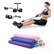 Yoga Mat With Tummy Trimmet   Sports Equipment for sale in Lagos State, Lagos Island