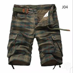 Solid Color Combat Short With Belt | Clothing Accessories for sale in Lagos State, Alimosho