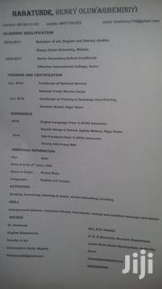 Job vacancies | Sales & Telemarketing CVs for sale in Kwara State, Ifelodun-Kwara