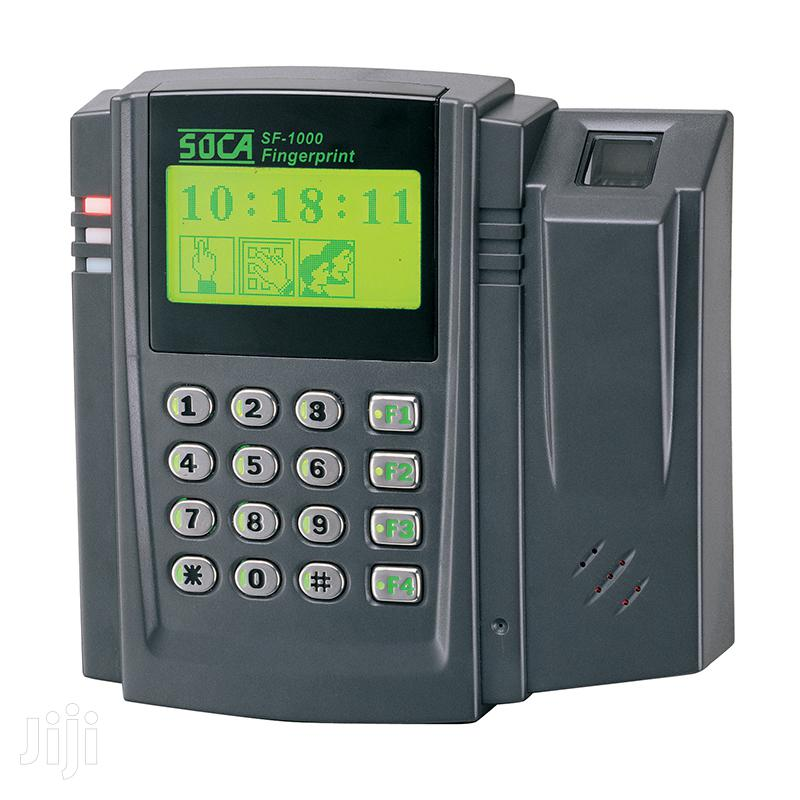 ACCESS CONTROL SYSTEM-SOCA SL 180 Time And Attendance Device