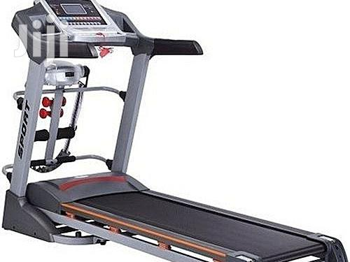 Semi Commercial 2.5hp Treadmill With Music Speaker, Massage & Incline