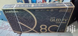 """New One Samsung 65"""" Curve Qled C8 UHD Ultra HDR 4K TV   TV & DVD Equipment for sale in Lagos State, Surulere"""