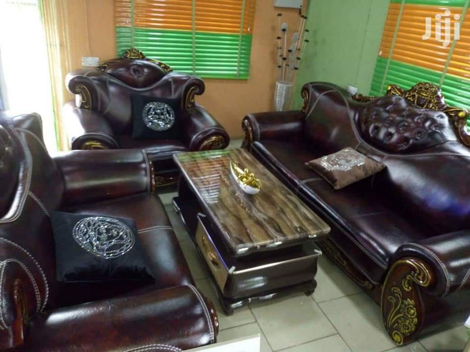 Royal Leather Sofa Chair.Imported From Turkey