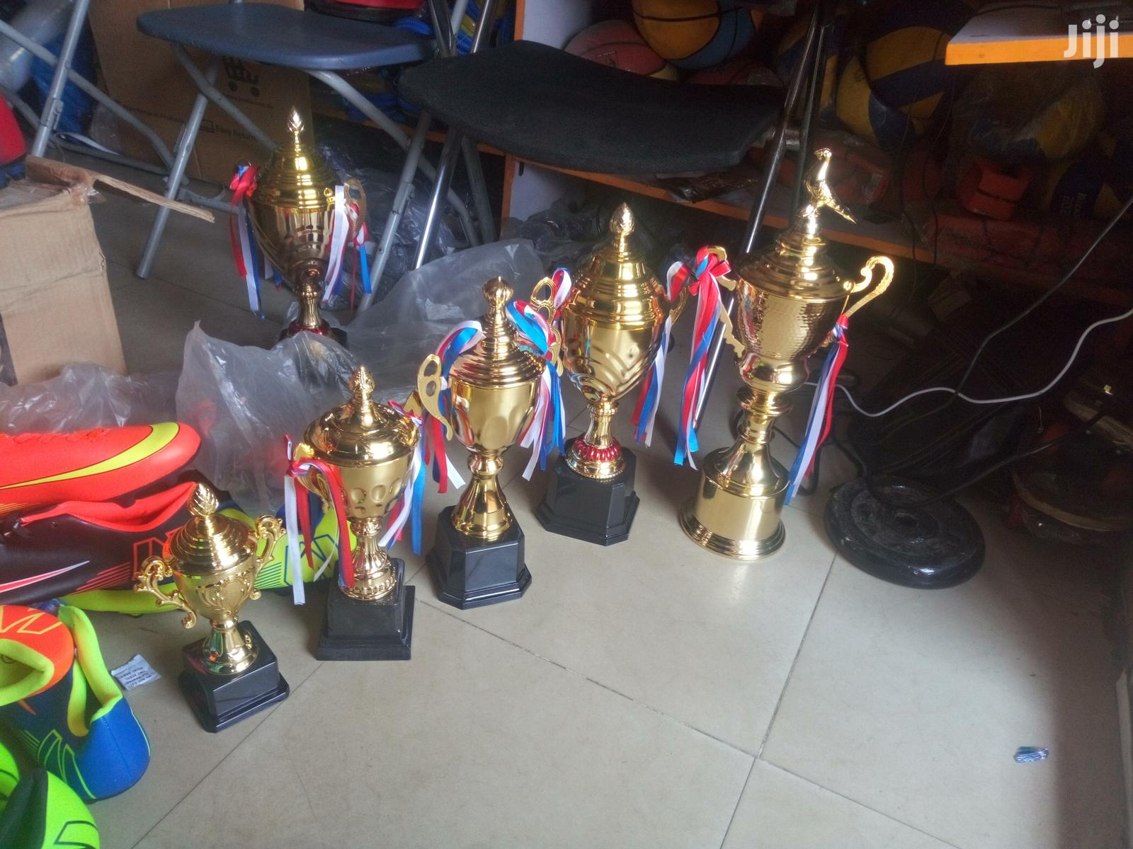 Trophies Set Of Trophy Medals | Arts & Crafts for sale in Surulere, Lagos State, Nigeria