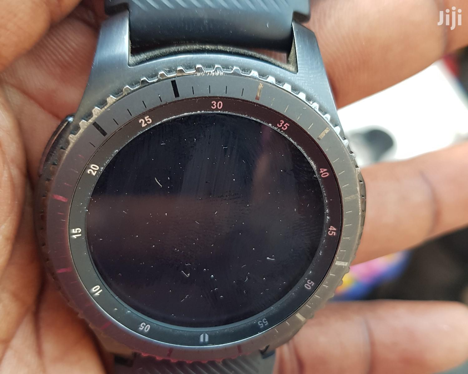 Clean Samsung Gear S3 Frontier   Smart Watches & Trackers for sale in Ibadan, Oyo State, Nigeria