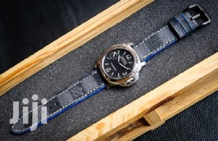 Louis Vuitton Iwatch Leather Straps For Series 4-40mm
