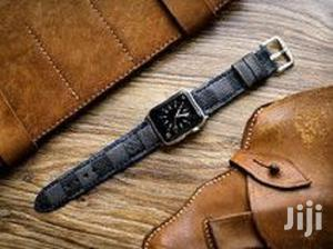 Louis Vuitton Iwatch Leather Straps For Series 4-44mm | Smart Watches & Trackers for sale in Lagos State, Ikeja