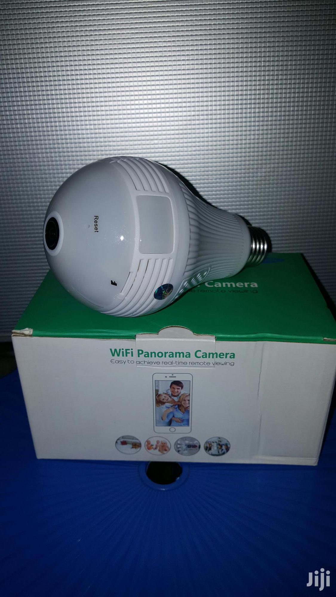 Archive: Wifi Spy Bulb Cctv Camera (360°)