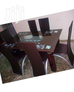 Higly Classic Glass Top Dining Table   Furniture for sale in Lagos State, Maryland