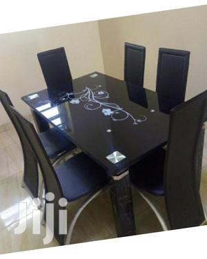 Highly Classic Glass Top Dining Table(416)   Furniture for sale in Lagos State, Maryland