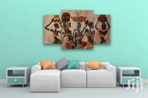 African Women 4pcs Canvas Wall Art   Arts & Crafts for sale in Lagos State, Agege