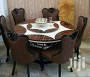 Round Marble Dinning Table With Six Chairs | Furniture for sale in Lagos State, Ojo