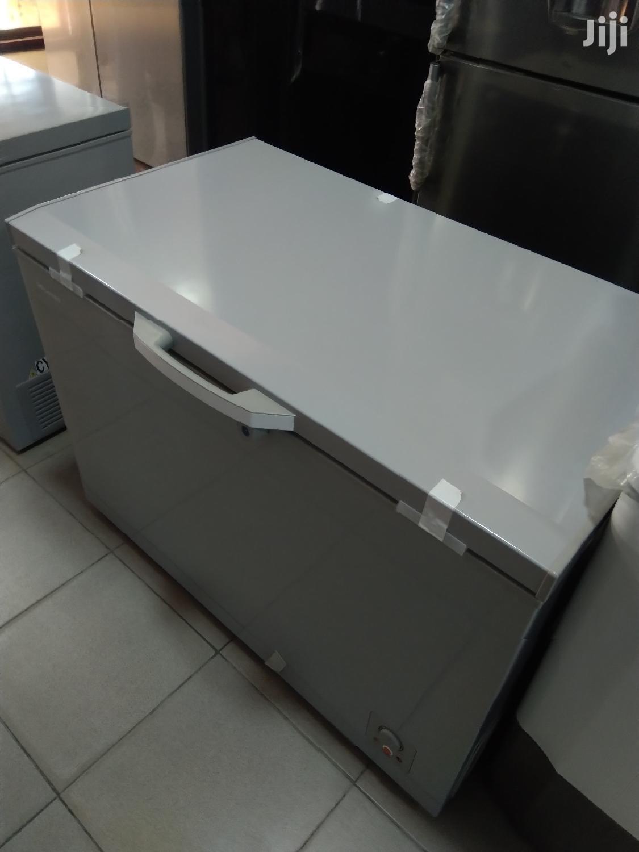 Archive: Brand New Hisense Model 440 Chest Freezer(400L)Silver Colour