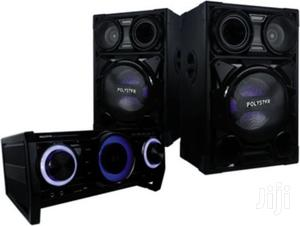 Brand New Polystar Home Theater 4000w With Bluetooth,FM | Audio & Music Equipment for sale in Lagos State, Ojo