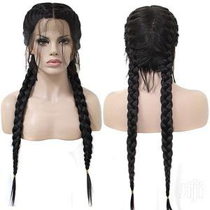Heat Resistant Fiber Box Braid Wig Glueless | Hair Beauty for sale in Lagos State, Ikoyi