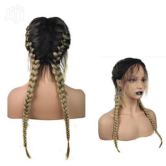 Heat Resistant Fiber Box Braid Wig Glueless | Hair Beauty for sale in Ikoyi, Lagos State, Nigeria