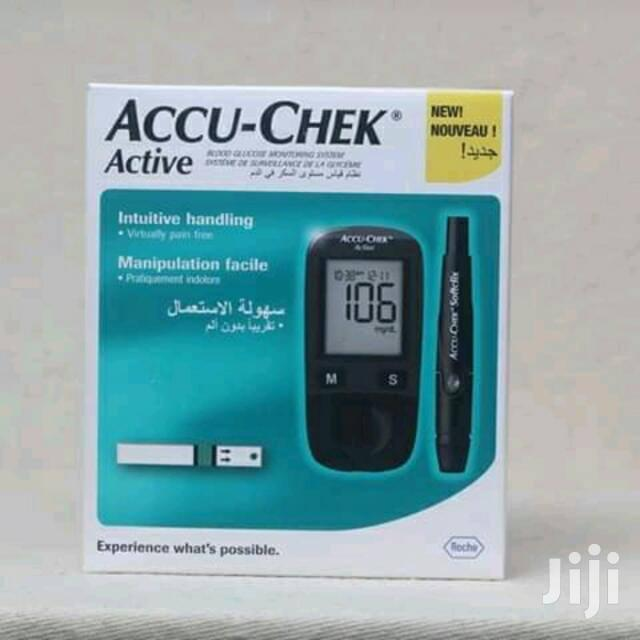 Accu-chek, Fine Test And On Call Glucometer Kit