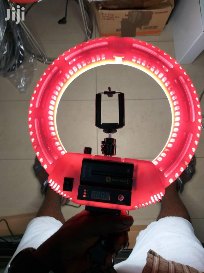 12inches Ringlight New Design With Phone Holder | Accessories & Supplies for Electronics for sale in Lagos Island (Eko), Lagos State, Nigeria