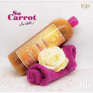 F W So Carrot Exfoliating Shower Gel   Bath & Body for sale in Lagos State, Ojo