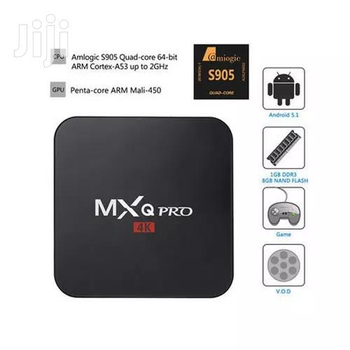 MXQ Pro 4k Display Android TV Box | TV & DVD Equipment for sale in Ikeja, Lagos State, Nigeria