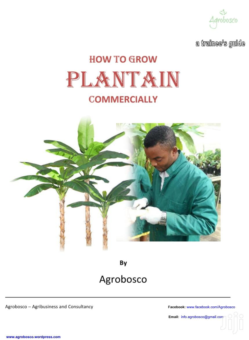 E-book On How To Grow Plantain / Banana Commercially