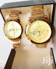 Emporio Armani Men's Waterproof Wrist Watches-Gold | Watches for sale in Lagos State, Ikeja