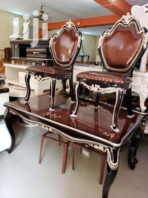 Imported Royal Dining Table With Six Chairs for Your Home   Furniture for sale in Lagos State, Agboyi/Ketu
