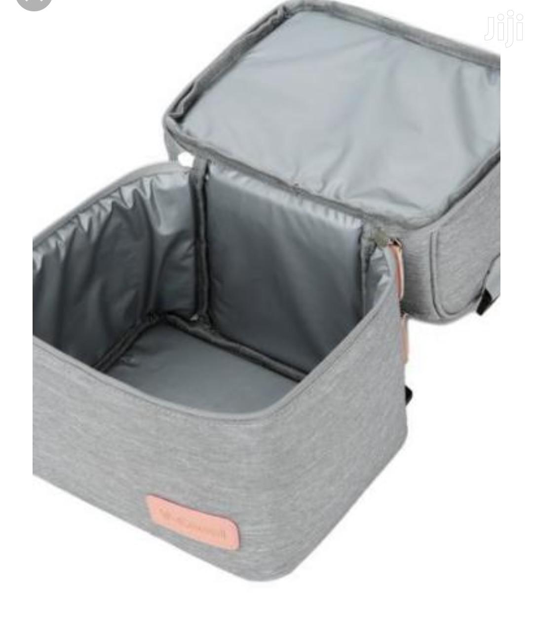 V-cool Cooler/Lunch Bag-grey   Babies & Kids Accessories for sale in Ikeja, Lagos State, Nigeria