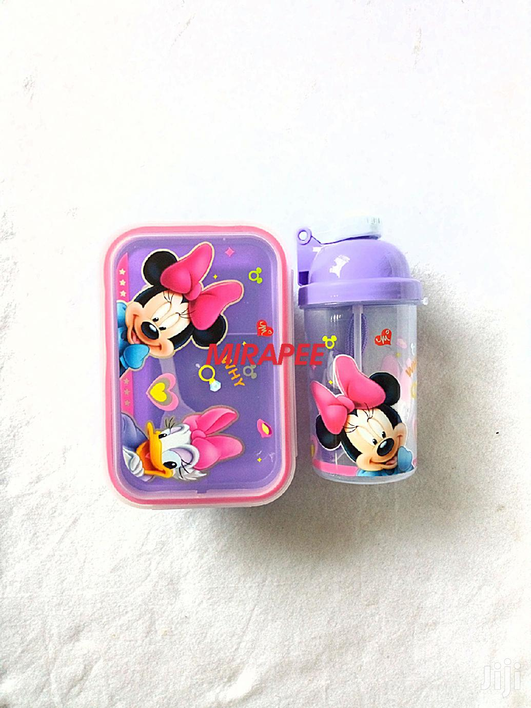 Characters Lunch Box Food Plate And Water Bottle | Kitchen & Dining for sale in Yaba, Lagos State, Nigeria