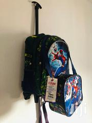 Fighter Xman Trolley And Backpack School Bag With Lunch Bag | Babies & Kids Accessories for sale in Lagos State