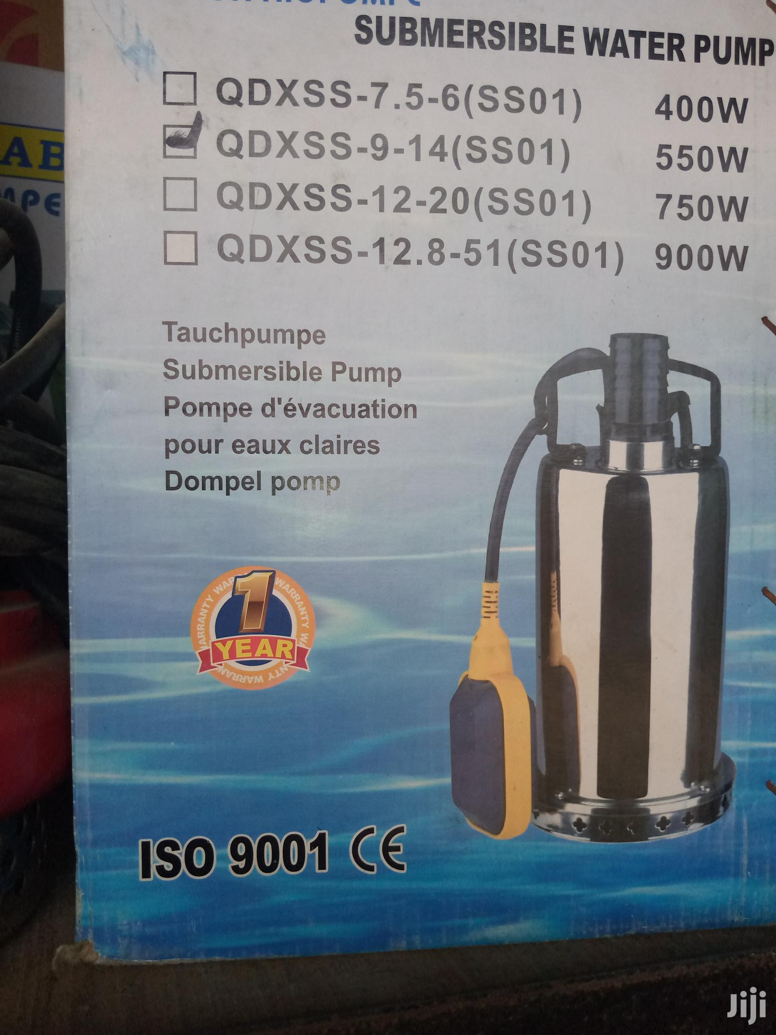 Interdab Garden Submersible Pump (0.55kw) (0.75hp)