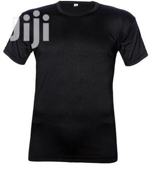 Royal Short-sleeve Black O-neck T-shirt   Clothing for sale in Lagos State, Surulere