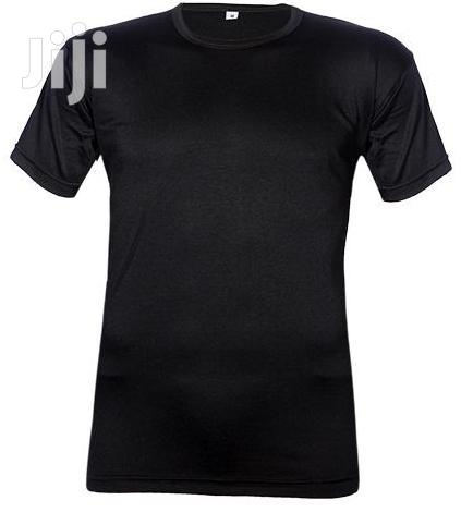 Royal Short-sleeve Black O-neck T-shirt
