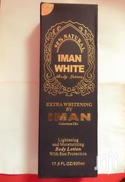 Iman White Body Lotion | Skin Care for sale in Lagos State, Alimosho