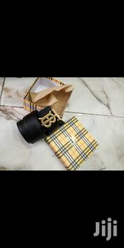 Burberry Belt Original | Clothing Accessories for sale in Lagos State, Surulere