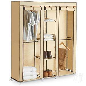 Vonhaus Triple Canvas Effect Wardrobe - Clothes Storage Cupboard W   Furniture for sale in Lagos State, Lekki
