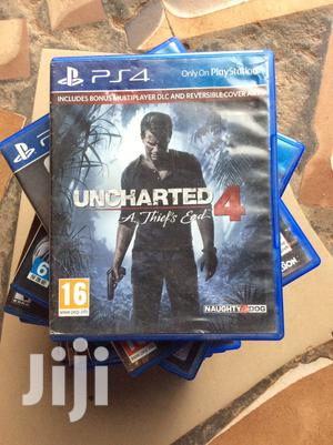 Uncharted 4 A Thief'S End Ps4 Cd   Video Games for sale in Abuja (FCT) State, Wuse 2
