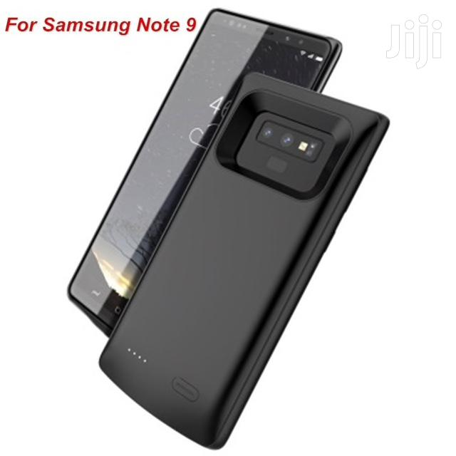 Galaxy Note 9 Battery Case 5500 Mah External Charger Cover Power Bank