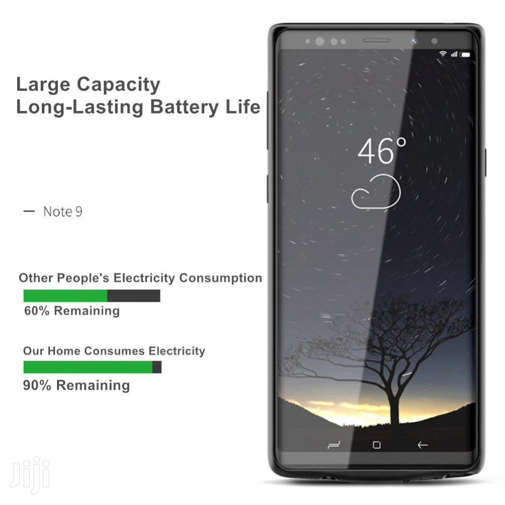 Galaxy Note 9 Battery Case 5500 Mah External Charger Cover Power Bank   Accessories for Mobile Phones & Tablets for sale in Ikeja, Lagos State, Nigeria