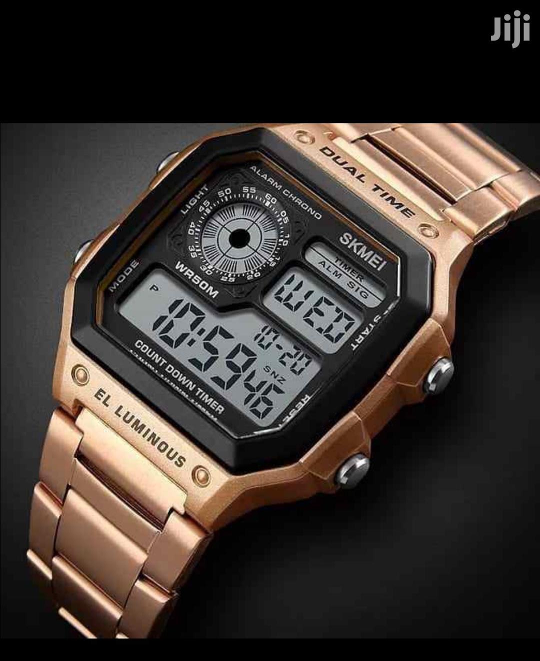 Skmei Dual Time Wrist Watch