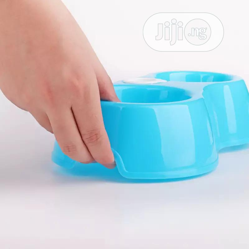 Archive: Portable Pet Feeder Plastic Dual Port Automatic Feeder Water