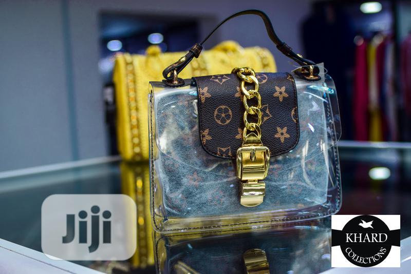 LV Transparent Bag With Purse