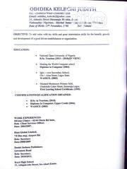 Company Secretary At Arik Air | Travel & Tourism CVs for sale in Lagos State, Mushin