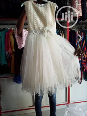 Ivory Turkish Gown Size 8_ Newe Baby | Children's Clothing for sale in Abuja (FCT) State, Jabi