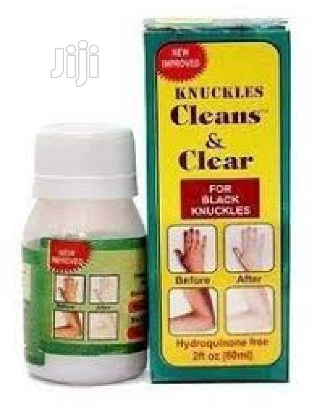 Cleans& Clear Dark Knuckles Cleaner Cream