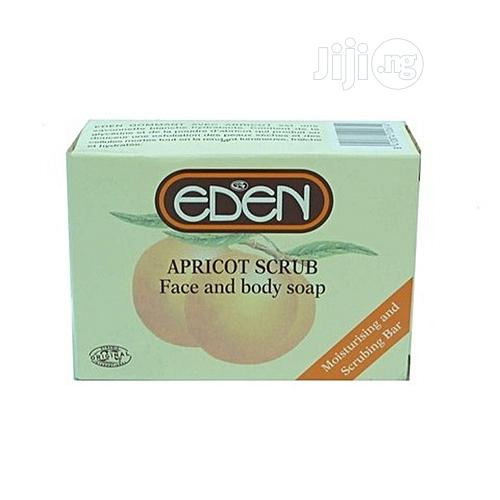 Eden Apricot Scrub Face And Body Soap - 150g