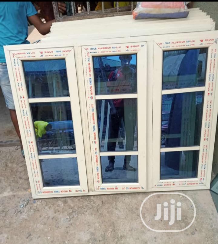 Top Quality Aluminium Casement Windows With Burglary and Net